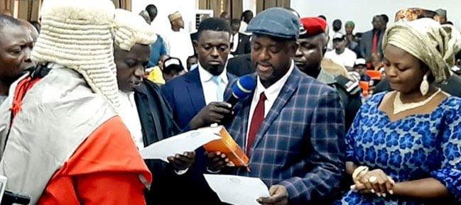 EHZU EYXkAAwzH3 - Just In: Edward Onoja Sworn In As Kogi Deputy Governor