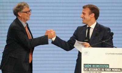Emmanuel Macron, Lyon, October 10, 2019. Ludovic Marin, AFP