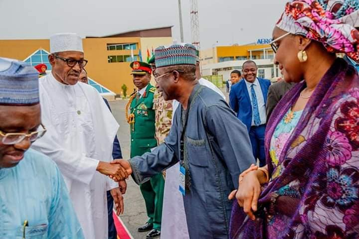 Hajia Sadia Umar Farouq Buhari - #BUSA19: See Photos Of President Buhari's Alleged New Wife, Sadia Farouq