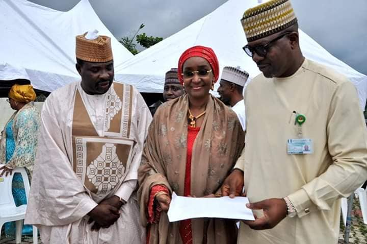 Hajia Sadia Umar Farouq Buhari 11 - #BUSA19: See Photos Of President Buhari's Alleged New Wife, Sadia Farouq