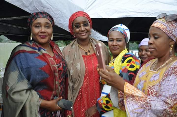 Hajia Sadia Umar Farouq Buhari 12 - #BUSA19: See Photos Of President Buhari's Alleged New Wife, Sadia Farouq