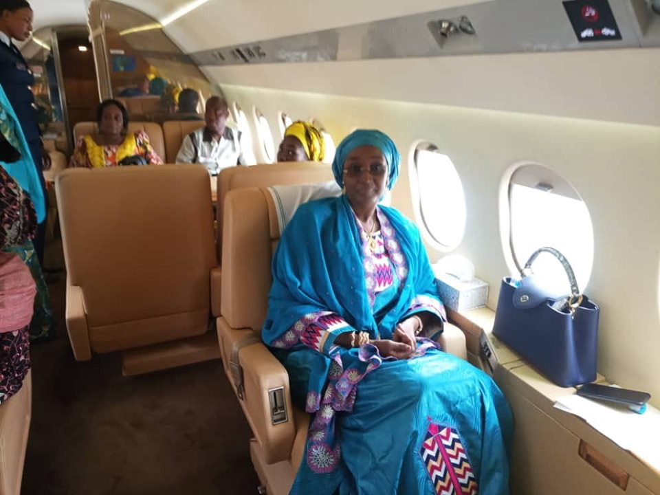 Hajia Sadia Umar Farouq Buhari 13 - #BUSA19: See Photos Of President Buhari's Alleged New Wife, Sadia Farouq