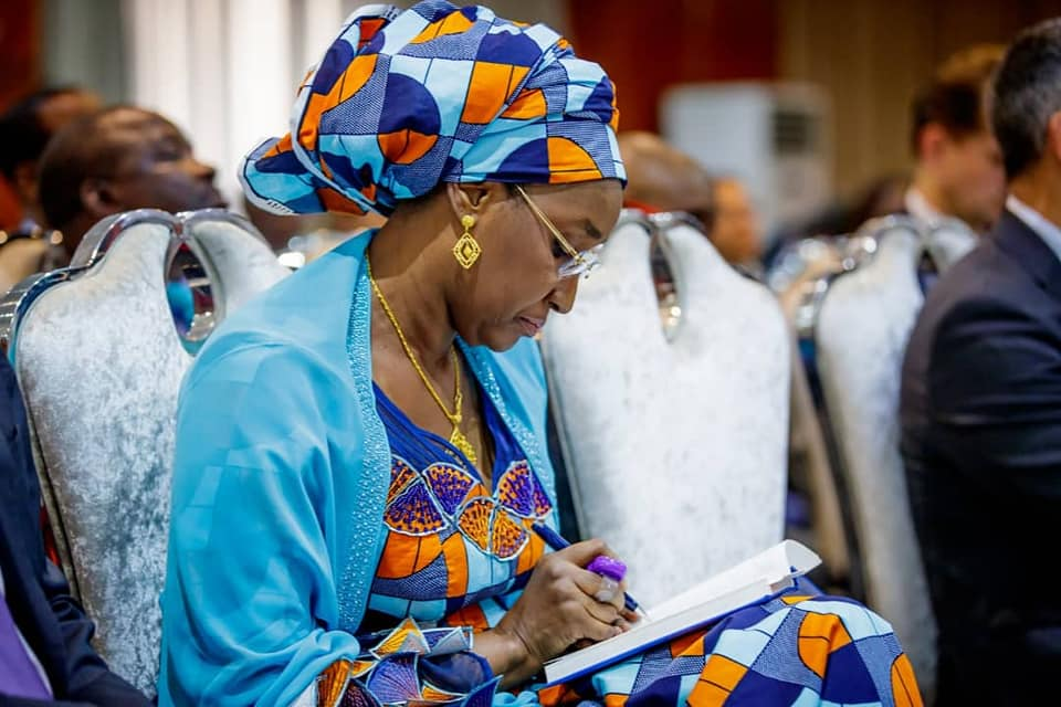 Hajia Sadia Umar Farouq Buhari 14 - #BUSA19: See Photos Of President Buhari's Alleged New Wife, Sadia Farouq