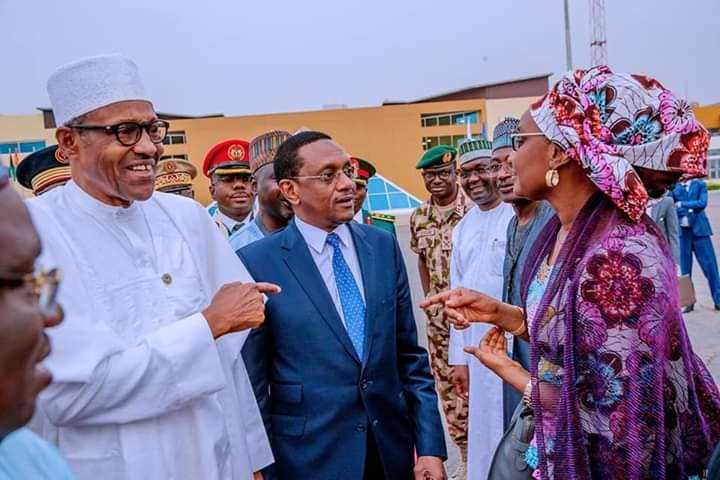 Hajia Sadia Umar Farouq Buhari 3 - #BUSA19: See Photos Of President Buhari's Alleged New Wife, Sadia Farouq