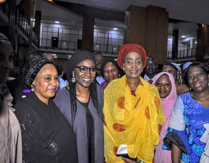 Hajia Sadia Umar Farouq Buhari 8 - #BUSA19: See Photos Of President Buhari's Alleged New Wife, Sadia Farouq
