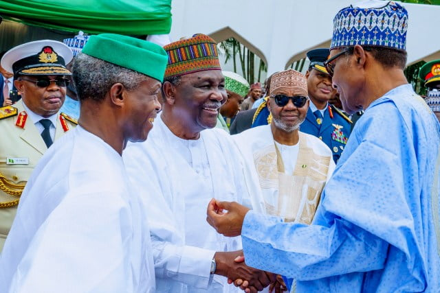 Independence Day 12 - Nigeria @59: Independence Day Celebration Holds Inside Aso Rock Villa (Photos)