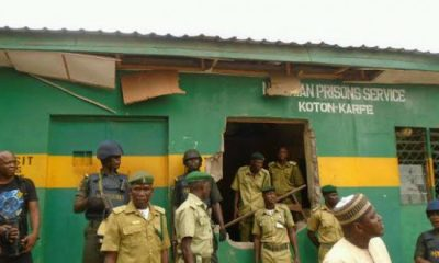 228 Inmates Flee As Flood Hits Prison In Kogi State