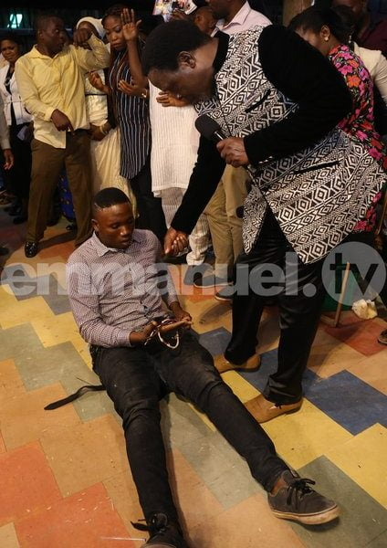 Man Attempts To Kill Prophet TB Joshua With Charms (Photos)