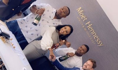 BBNaija 2019 Winner Mercy Bags Endorsement Deal With Moet & Chandon