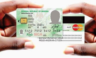 Full List Of Documents Required For National ID Card Enrolment