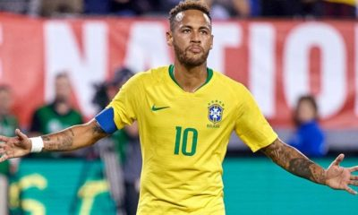 Neymar Has Played 100 Times For Brazil