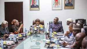 Ngige Keyamo Labour 1280x720 300x169 - FG Meets NLC, TUC, Others Over Industrial Actions