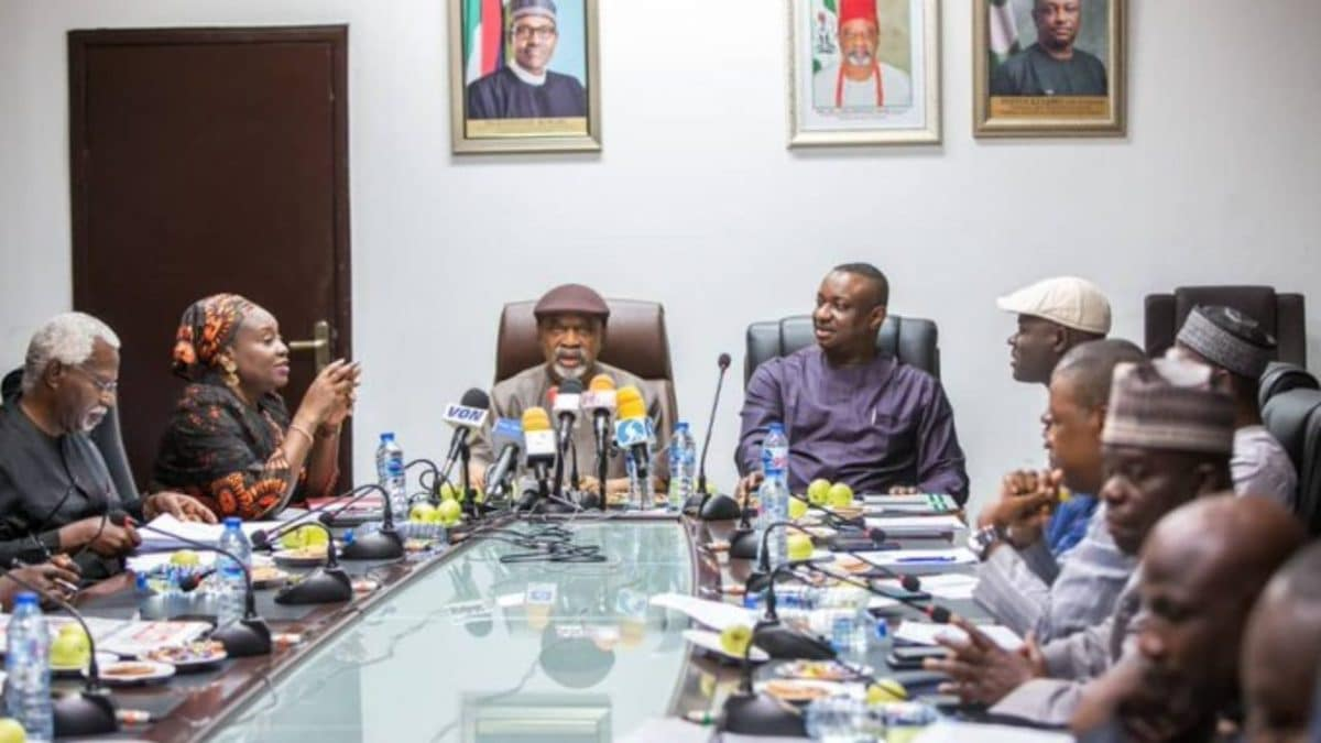 FG Meets NLC, TUC, Others Over Industrial Actions | Naija News