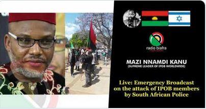 Biafra: Full Audio Of Nnamdi Kanu's 'Emergency Broadcast' (Listen Here)