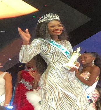 Breaking: Miss Rivers Emerges MBGN 2019 (Video)