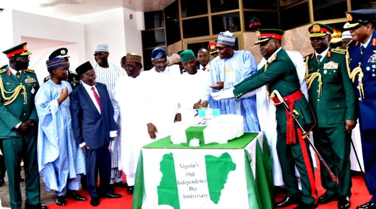 Pic 8 Independence Anniversary 750x417 - Nigeria @59: Independence Day Celebration Holds Inside Aso Rock Villa (Photos)