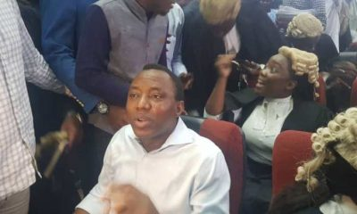 Trial Judge Raises Concern Over Sowore's Surety