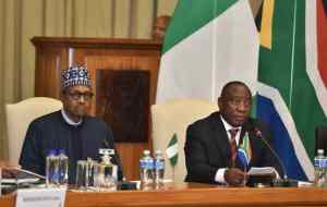 WhatsApp Image 2019 10 03 at 2.23.35 PM - Picture Story: Nigerian Government Signs 32 Bilateral Agreement With South Africa
