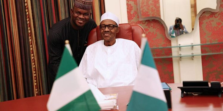 Breaking: Buhari Begs Senate To Pay Yahaya Bello's Kogi N10.069bn