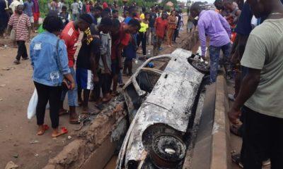Protest Rocks Community As Motorist Kills Three Sisters