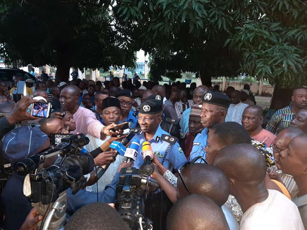 cfa975116c6e41b594ae5d8e992635c8 - Ilorin Detention Center: Nigeria Police Give Update On Rescued Victims