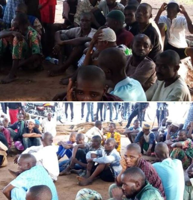 photos police uncover arabic torture centre in kwara 108 rescued read details 2 - Ilorin Detention Center: Nigeria Police Give Update On Rescued Victims