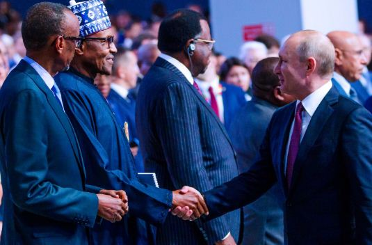 Presidency Releases Takeaways From Buhari's Visit To Putin's Russia