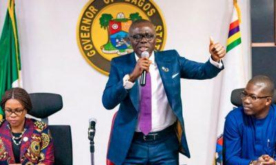 Lagos: Gov Sanwo-Olu Gives Latest Update On Coronavirus