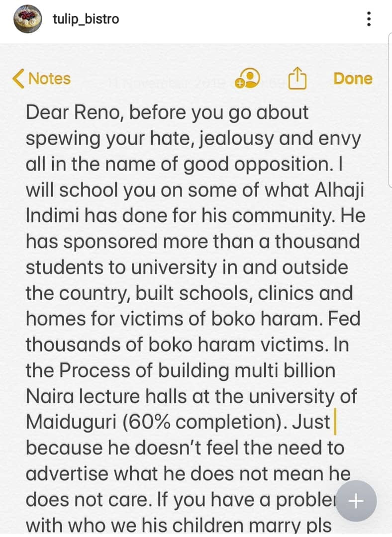 5dc956b1d20f0 - Billionaire Indimi Blast Reno Omokri Over 'Careless' Comment