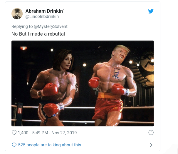 5ddfa33ae793c - Funny Comments Trail Trump's Posts Of His 'Photoshop' Face On Rocky Balbao Body