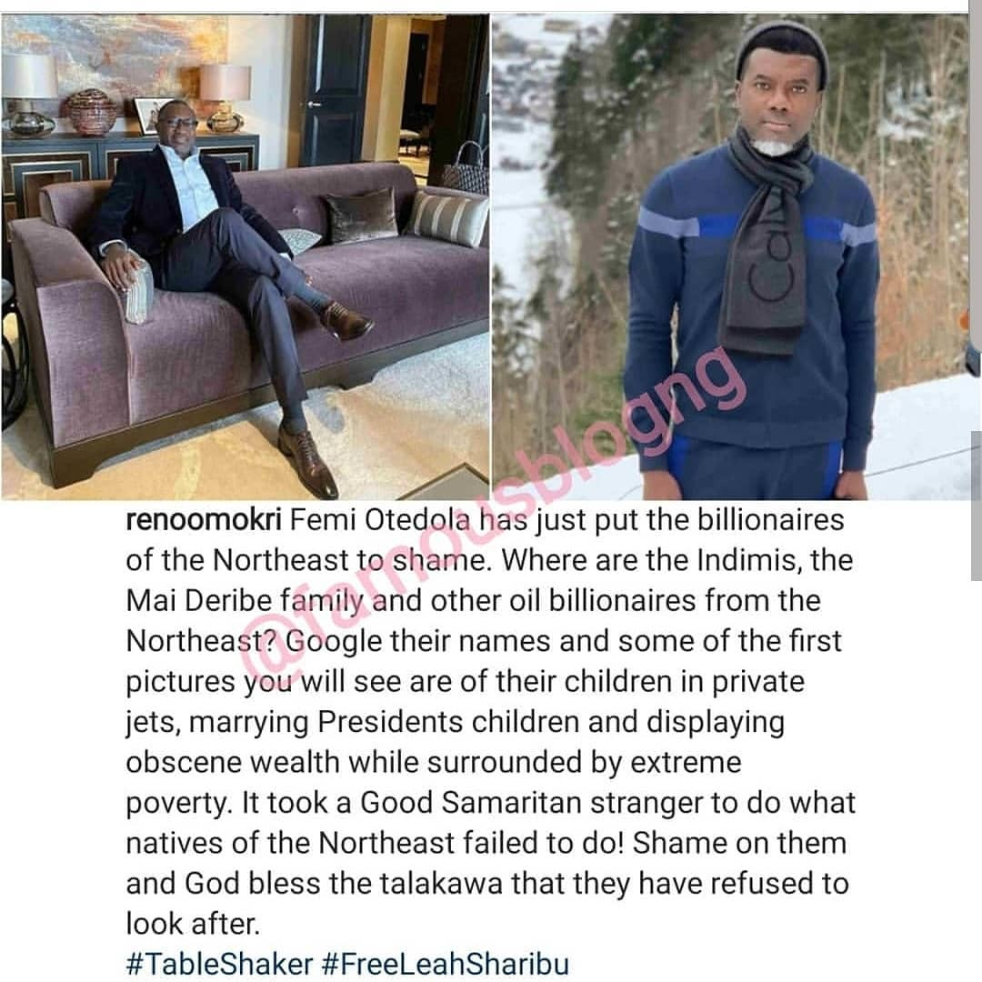 71916061 517895675460605 3117333829234759435 n - Billionaire Indimi Blast Reno Omokri Over 'Careless' Comment