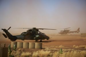 A Tiger Combat Helicopter at the French Army Military Base November 8 2019 in Gao Mali 300x200 - Nigerian Army Dismantles Boko Haram Camp