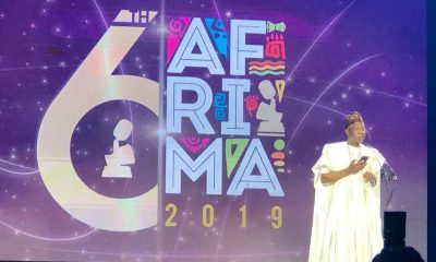 Nigeria's Minister Of Information, Lai Mohammed Disgraced At AFRIMA (Video)