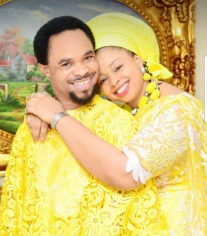 Chukwuemeka Odumeje3 - Photos: Popular 'Wrestling Pastor', Prophet Chukuwemeka Shares Lovely Family Photos