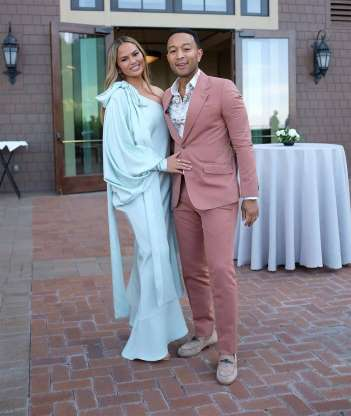 John Legend and Chrissy Teigen - 30 Celebrities Targeted By Trump On Twitter