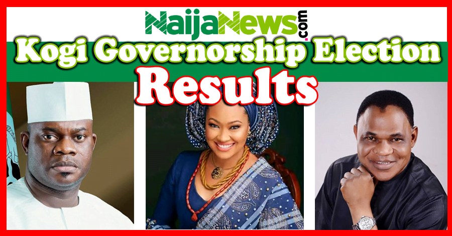 Live Updates: 2019 Kogi Governorship Election Results From Different LGAs