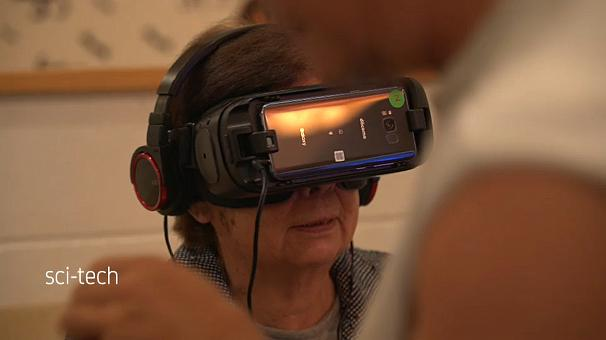 The virtual reality headset of Silverwood Corp - In Japan, Advanced Technology Helps Seniors To Live Better