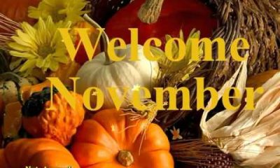 100 Happy New Month Messages, Wishes, Prayers For November 2019