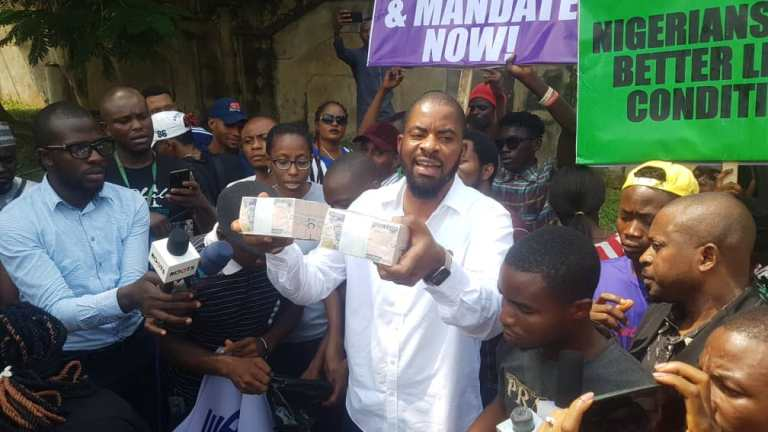 Image result for Adeyanju alleges DSS offered N1m bribe to stop FreeSoworeProtest