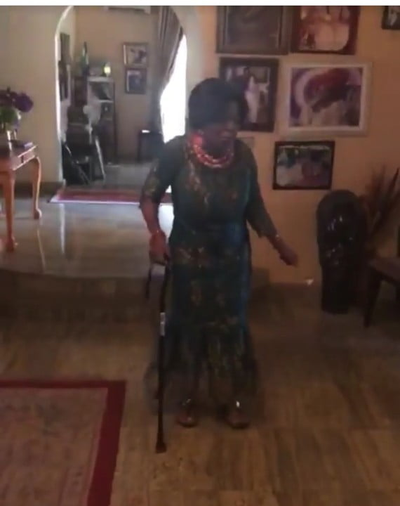 aguyi1 - Ex First Lady, Mrs Aguiyi-Ironsi Celebrates Her 96th Birthday In Grand Style