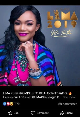 LoveWorld star Ada is slated to perform at the LIMA awards 2019