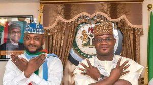 onoja and yahaya bello 300x168 - Kogi: Gov. Yahaya Bello Sworn In For Second Term