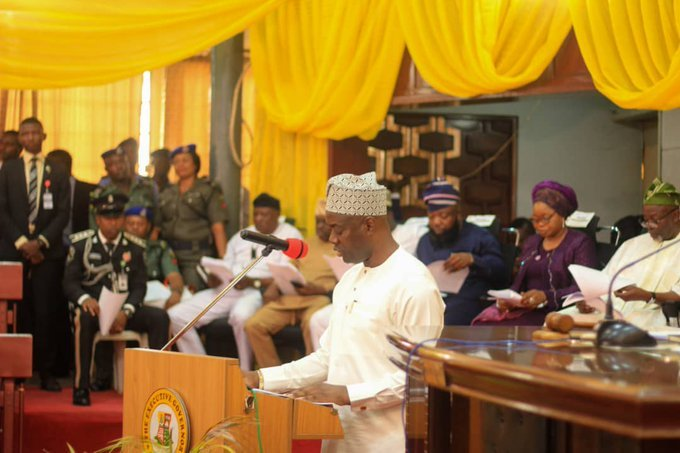 seyi - Oyo State Governor, Seyi Makinde Presents N208 Billion Budget To Oyo State Assembly