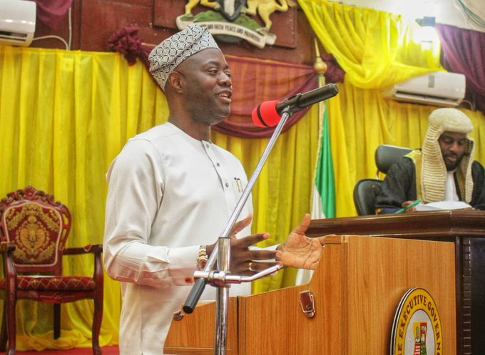 seyi1 - Oyo State Governor, Seyi Makinde Presents N208 Billion Budget To Oyo State Assembly