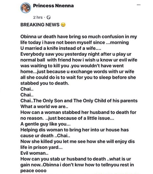 5de744be97006 - Lady Allegedly Stabs Husband To Death While Sleeping