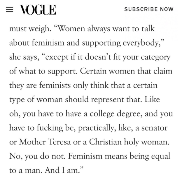 5def5383247b1 1 - Cardi B Voices Out On Feminism