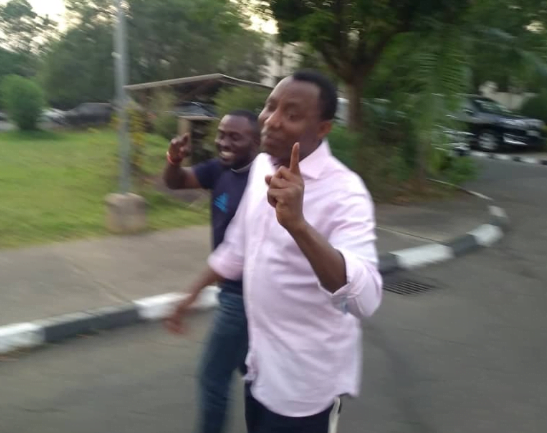 5e024a0eb0270 - See Photos Of Sowore As He Leaves DSS Quarters