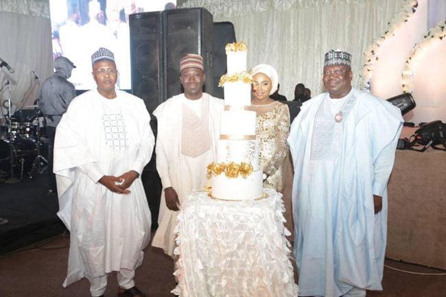 5e06f181b6336 - See Photos From Senate President, Ahmed Lawan's Son's Wedding