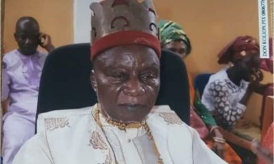 Breaking: Nnamdi Kanu's Father, Eze Israel Kanu Is Dead