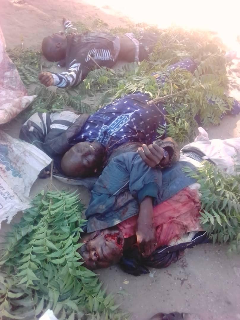 IMG 20191223 WA0012 - PHOTOS: How Boko Haram Abduct 2 Females Aid Workers , Kill 3 Along Monguno